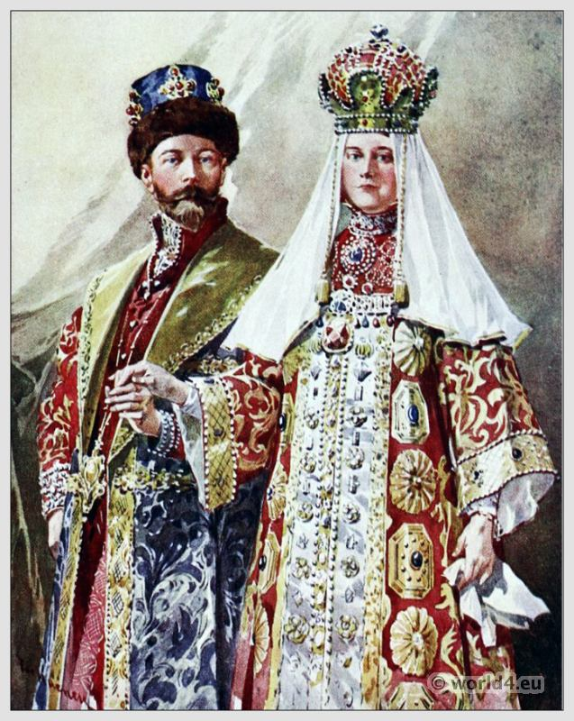russian costumes encyclopedia of costumes